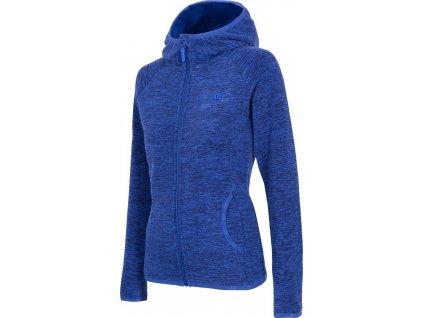 Bluza damska polarowa 4F PLD002 niebieska