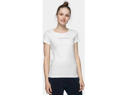 Koszułka damska 4F TSD237 biała