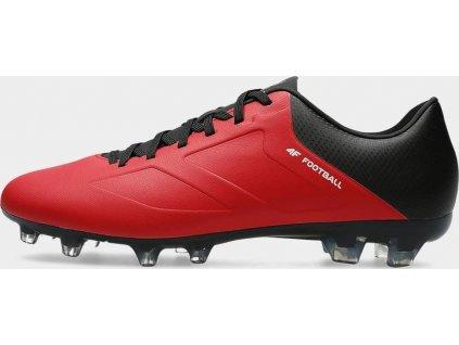 Męskie buty piłkarskie OBMS200 Czerwone
