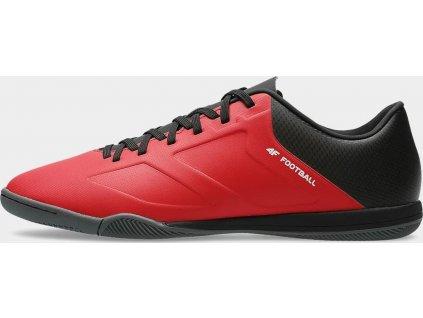 Buty halowe męskie 4F OBMS201 Czerwone