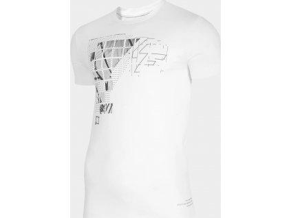 Męska koszulka 4F TSM205 Biała