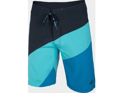 Męskie szorty plażowe 4F SKMT005 Niebieskie