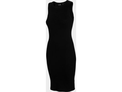 Sukienka damska 4F SUDD301 Czarna