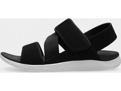 Sandały damskie SAD202 czarne