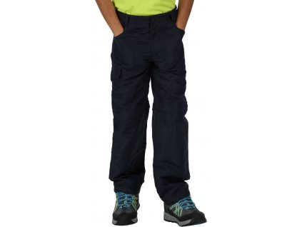 Dziecięce spodnie turystyczne Regatta Sorcer Z/O Trs II 540 niebieskie