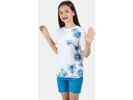 Koszułka dziecięca Regatta Alvarado V 900 biała