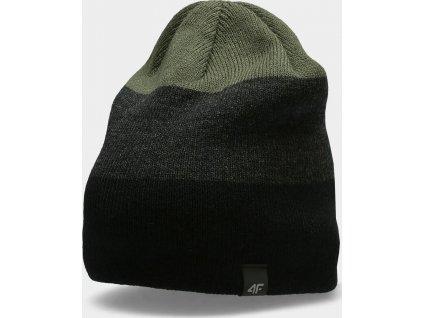 Męska czapka zimowa 4F CAM157 Khaki