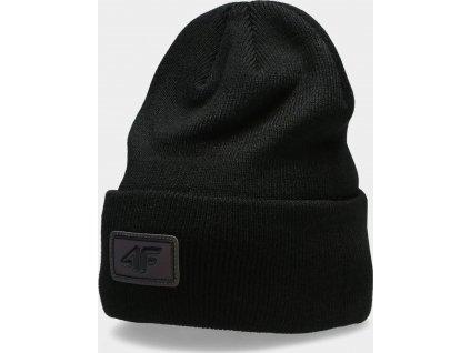 Czapka zimowa damska 4F CAD302 Czarna
