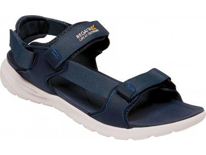 Sandały męskie REGATTA RMF658-5PM w kolorze ciemnoniebieskim