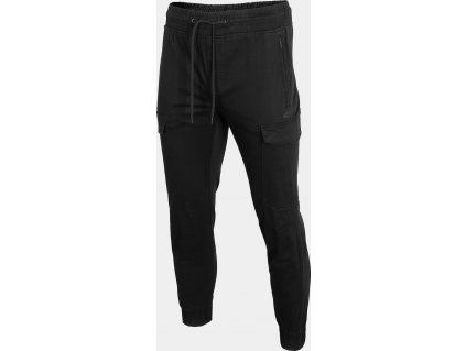 Męskie spodnie miejskie 4F SPMC301 czarne