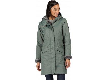 Płaszcz damski zimowy Regatta Rimona 2VT zielony