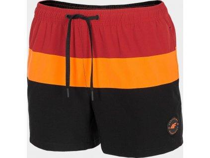 Męskie szorty plażowe 4F SKMT201 czarne