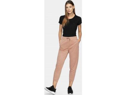 Spodnie dresowe damskie 4F SPDD210 Różowe