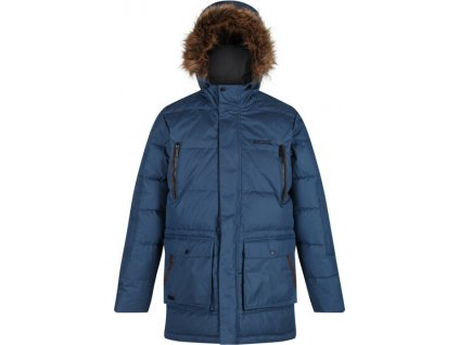 Męska kurtka zimowa Regatta RMN130 Angaros II Niebieski