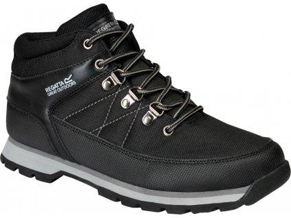 Męskie buty zimowe Regatta RMF681 Aspen Black