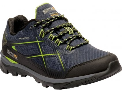 Męskie niebieskie buty trekkingowe REGATTA RMF623 Kota Low II