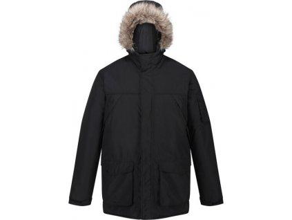 Męska kurtka zimowa Regatta RMP285 Salinger II Czarna