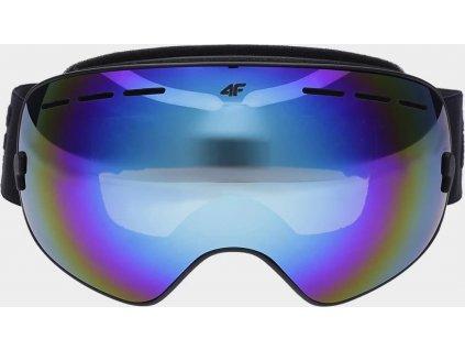 Damskie gogle narciarskie 4F GGD250 Kobalt