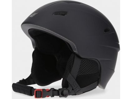 Męski kask narciarski 4F KSM350 czarny