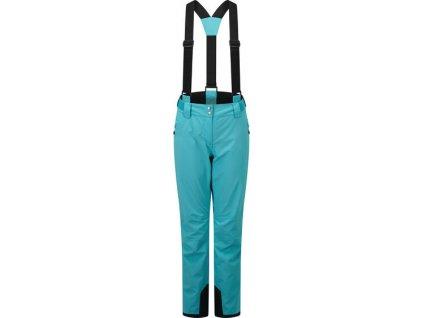 Damskie spodnie narciarskie effused II Pant 3FX Niebieski