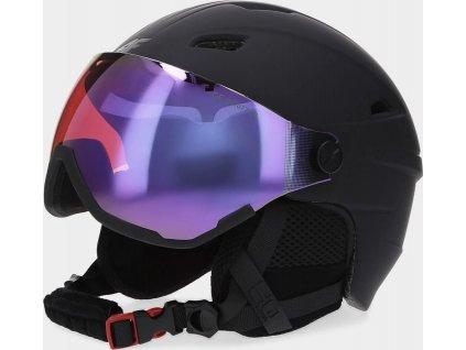 Kask narciarski damski 4F KSD151 czarny