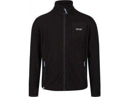 Męska bluza polarowa Regatta RMA430 Stanner 800 czarna