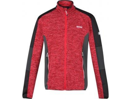 Męska bluza polarowa Regatta RMA 443Coladane 02A czerwona