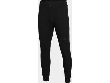 Męskie spodnie dresowe 4F SPMD011 czarne