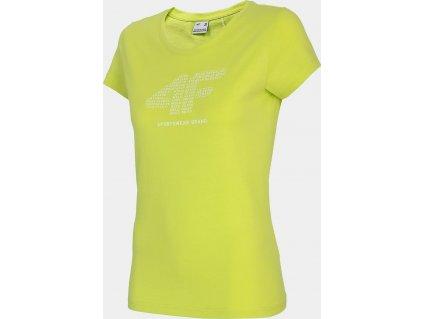 Damska koszulka 4F TSD011 zielony