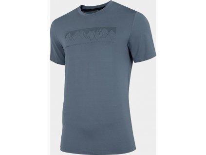 Męska koszulka 4F TSMF060 szary