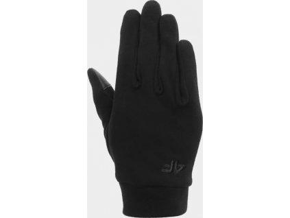 Rękawiczki unisex 4F REU204 Czarne