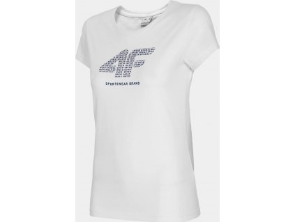Koszulka damska 4F TSD011 biała