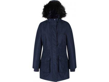 Płaszcz zimowy damski Regatta RWP298 Sefarina 540 ciemnoniebieski