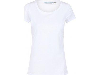Koszulka damska Regatta RWT198 Carlie 900 biała