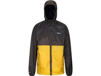 Męska kurtka Regatta RMW339 Roldane PQ9 żółta
