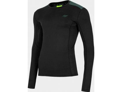 Męska koszulka funkcyjna 4F TSMLF010 Czarny