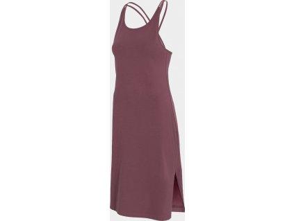 Sukienka damska 4F SUDD013 Burgund