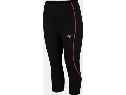 Damskie legginsy biegowe 4F SPDF010 czarne