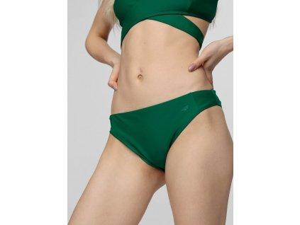 Kostium kąpielowy damski (dół) 4F KOS003D zielony