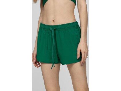 Szorty plażowe damskie 4F SKDT001 zielone