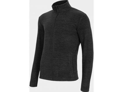 Bluza męska 4F PLM001 czarna melanż