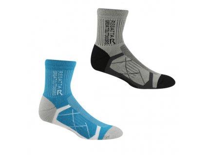 Dámské ponožky Regatta RWH047 Ladies 2pk Sock H8S