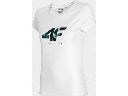 Koszulka damska 4F TSD030 Biała