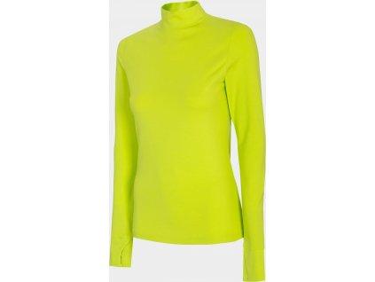 Damska koszulka 4F TSDL010 zielony
