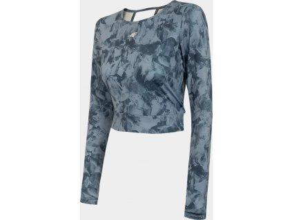 Damska koszulka do jogi 4F TSDLF010 Kolor