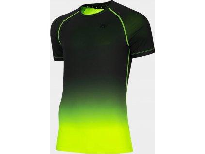 Męska koszulka funkcyjna 4F TSMF014 Zielony