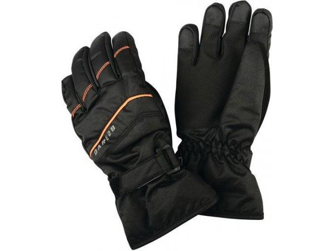 Dziecięce rękawice narciarskie Dare2B DBG306 FLAG DOWN II. Black
