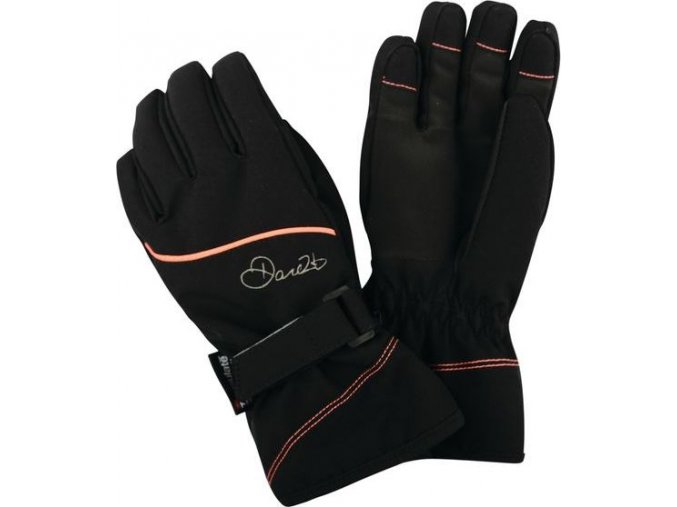 Dziecięce rękawice narciarskie Dare2B DGG307 INSTRUCT Czarne