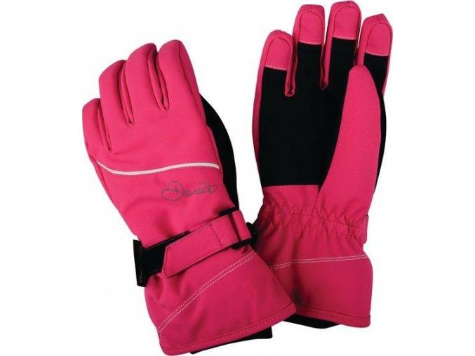 Dziecięce rękawice narciarskie Dare2B DGG307 INSTRUCT Różowe