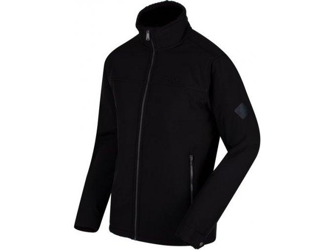 Pánská softshellová bunda Regatta RML140 CASTIEL Black